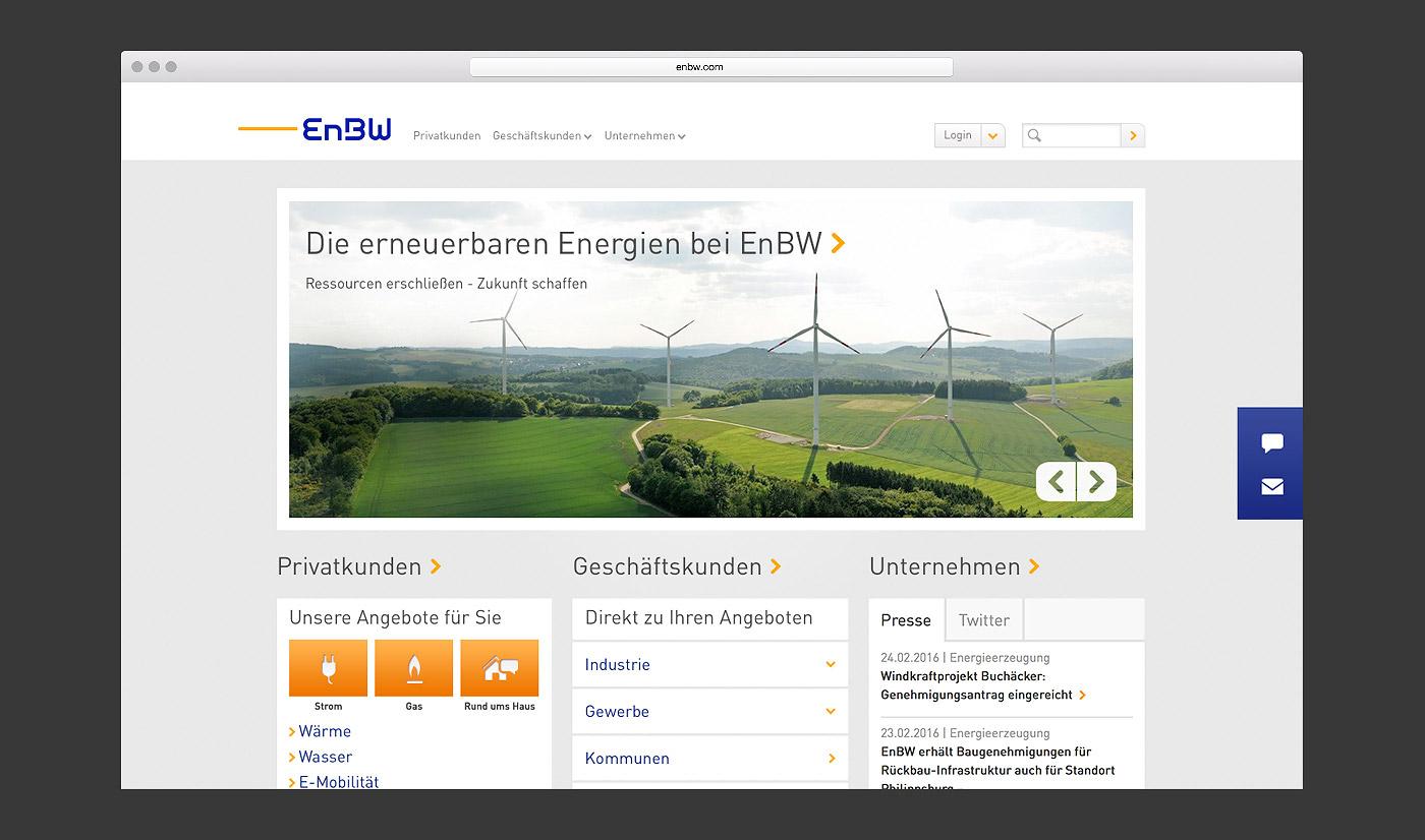 EnBW Portal