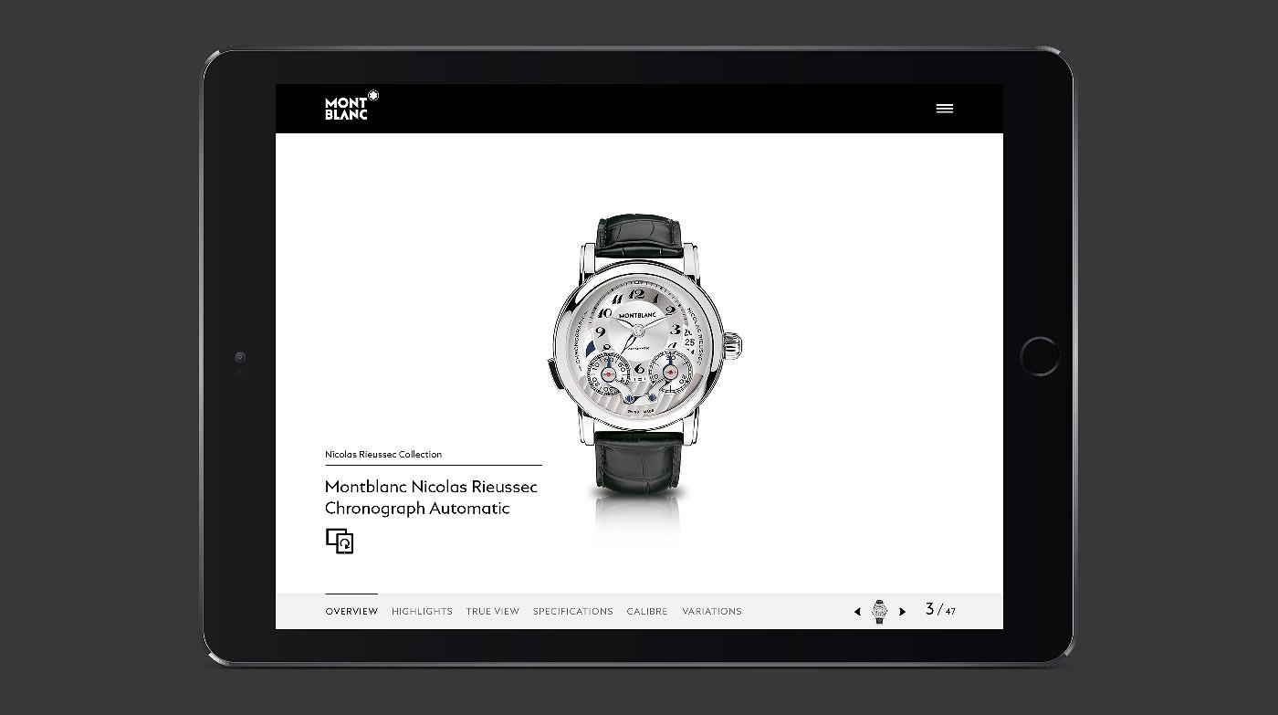 Montblanc Timepieces App